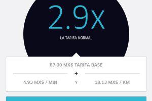 Te mostramos como funcionan las tarficas dinámicas para los pasajeros